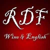 RDF Wine & English