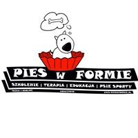 Pies w formie