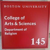 Boston University Department of Religion