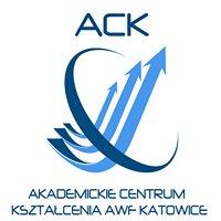 Akademickie Centrum Kształcenia AWF Katowice