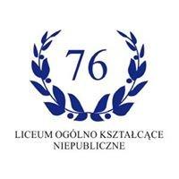 Liceum  Ogólnokształcące Niepubliczne Nr 76 im. Wisławy Szymborskiej