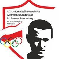 LIX Liceum Ogólnokształcące Mistrzostwa Sportowego im.J.Kusocińskiego