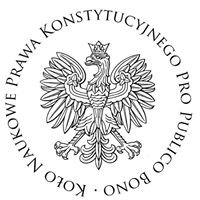 """Koło Naukowe Prawa Konstytucyjnego """"Pro Publico Bono"""""""
