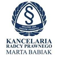 Kancelaria Radcy Prawnego Marta Babiak