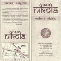 Bar Nicola kuchnia Indyjska