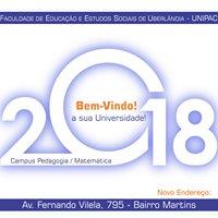 Unipac/Feesu Pedagogia e Matemática Uberlândia