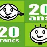 Carte 20 ans / 20 francs