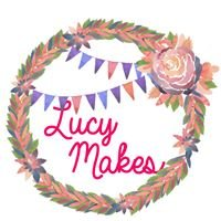 Lucy Makes Bunting