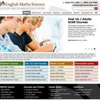 English Maths Science Tuition & Examination Centre