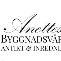 Anettes Byggnadsvård Antikt & Inredning