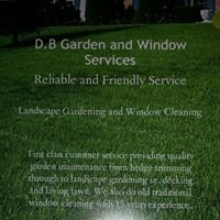 D.B garden and window cleaning services