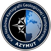 """Koło Naukowe Kartografii Geologicznej i Komputerowej """"Azymut"""""""