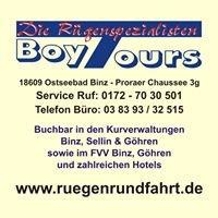 Boy Tours