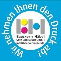 Baecker + Häbel Satz und Druck GmbH