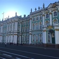 State Hermitage Museum and Winter Palace  : St. Petersburg