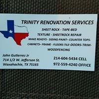 Trinity renovation services
