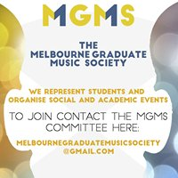 Melbourne Graduate Music Society (MGMS)
