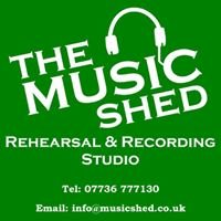The Music Shed - Derby's Pro-Active Rehearsal and Recording studio