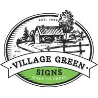 Village Green House Signs