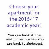 Budapest apartments for students - for the next school year