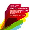 """Masterstudiengang """"Unternehmens- und Steuerrecht"""""""