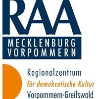 RAA Regionalzentrum Vorpommern-Greifswald