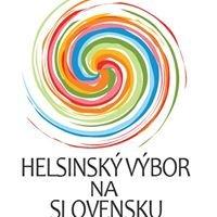 Helsinský výbor pre ľudské práva na Slovensku/ Slovak Helsinki Committee