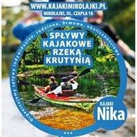 Nika - Spływy Kajakowe Krutynia