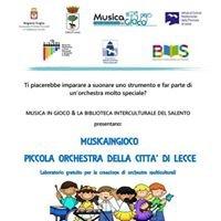 Musica in gioco at Biblioteca Interculturale del Salento
