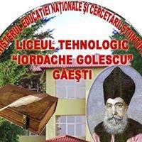 """Liceul Tehnologic """"Iordache Golescu"""""""