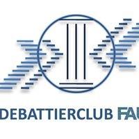 Debattierclub FAU - Streiten mit Niveau