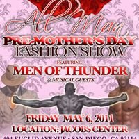 All Man Pre-Mother's Day Fashion Show