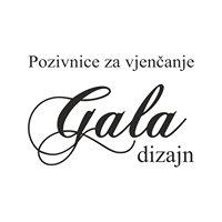 Pozivnice za vjenčanja Gala Dizajn