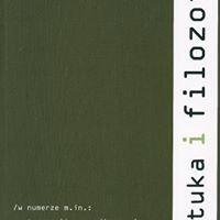 Sztuka i Filozofia / Art and Philosophy