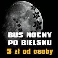 Bus Nocny 5 zł od drzwi do drzwi