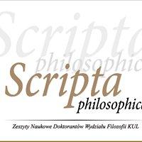 Scripta Philosophica
