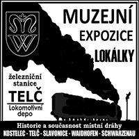 Muzejní expozice místní dráhy Kostelec-Telč-Slavonice