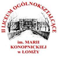 II Liceum Ogólnokształcące im. Marii Konopnickiej w Łomży
