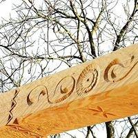 Kruca Fuks - tradycyjne domy drewniane