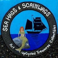 Seahags & Scallywags - Art, UpCycled Treasure & Collectibles