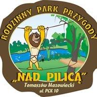 """Park linowy """" Nad Pilicą"""" Tomaszów Mazowiecki"""
