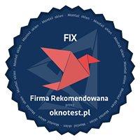 FIX - Twój dom, Nasze okna