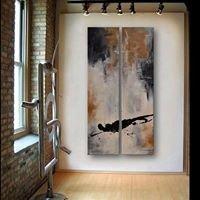 Jennifer Burns Abstract Artwork