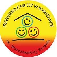 Przedszkole 237 im. Warszawskiej Syrenki