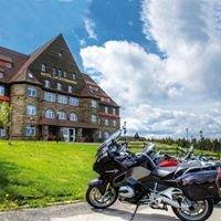 Motorradparadies Erzgebirge - BMW-Motorrad Testride-Hotel Sachsenbaude