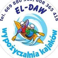 El-Daw: bary i wypożyczalnie kajaków nad Wkrą (Joniec i Sochocin)