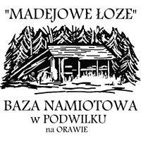 """Baza Namiotowa """"Madejowe Łoże"""" w Podwilku"""