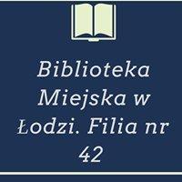 Biblioteka Miejska w Łodzi. Filia nr 42
