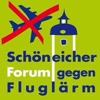 Schöneicher Forum gegen Fluglärm