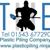 THE Plastic Piling Company for Retaining, flood and erosion walls